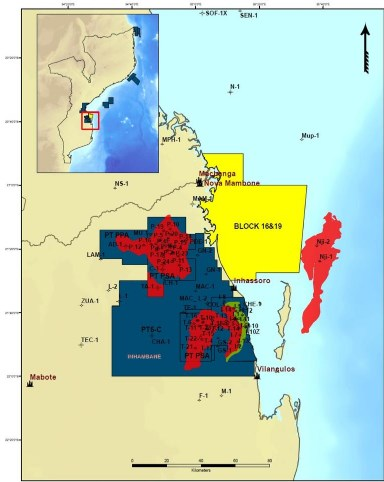 MOZAMBIQUE: SASOL Relinquishes Blocks 16 & 19 License