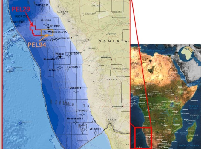 NAMIBIA: Global Petroleum Provides Financing Update for PEL 0094