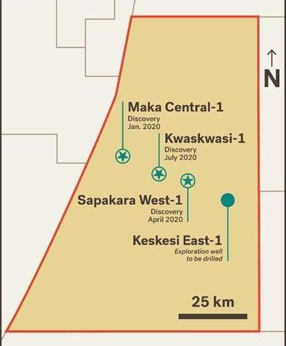 SURINAME: Apache Corporation Announces Major Oil Discovery In Block 58 At Kwaskwasi-1