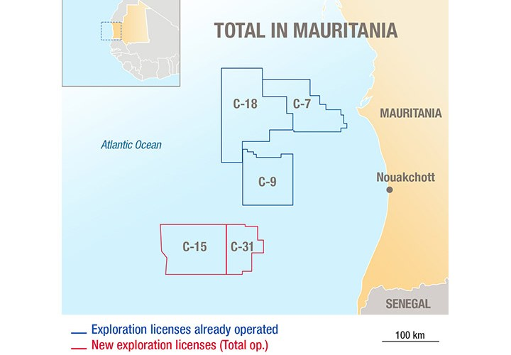 MAURITANIA: Total Contracts Shearwater for West Africa 3D Acquisition