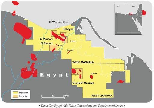 EGYPT: Eni, New Gas Discovery in the 'Great Nooros Area', Mediterranean Sea