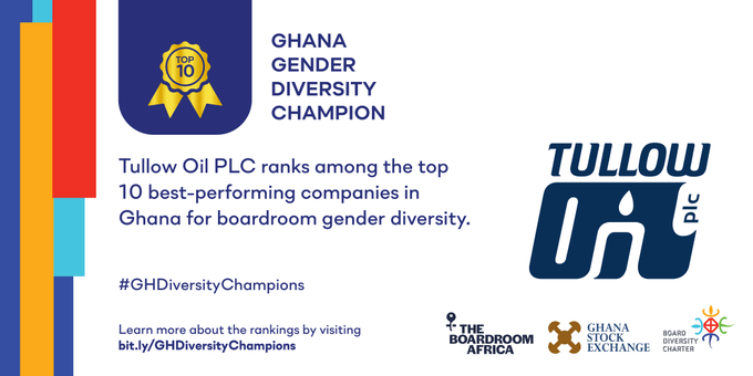 GHANA: Companies in Extractives Shine in Annual Study of Gender Diversity Among Publicly Listed Companies