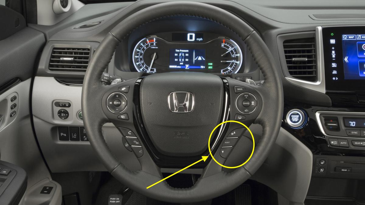 Oil Reset Blog Archive 2016 Honda Pilot Maintenance