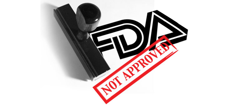 Image result for not approved by fda