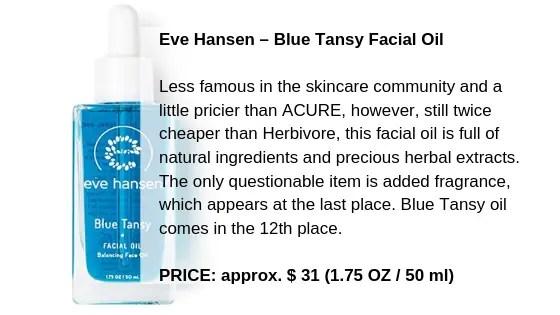 Eve Hansen – Blue Tansy Facial Oil