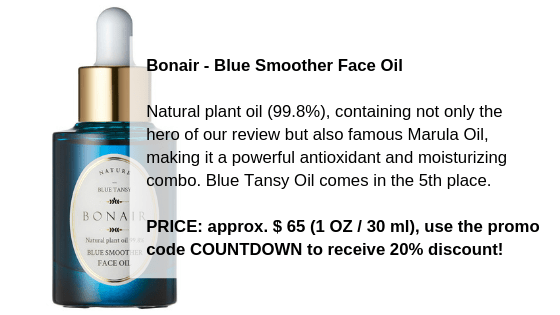 Bonair - Blue Smoother Face Oil