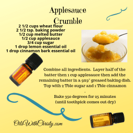 Applesauce Crumble