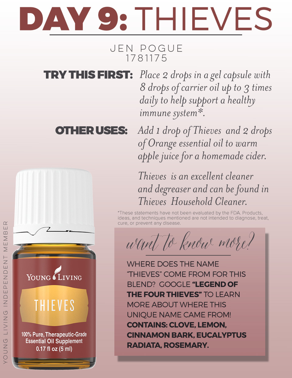 Thieves Cleaner Recipe Young Living Blog Dandk