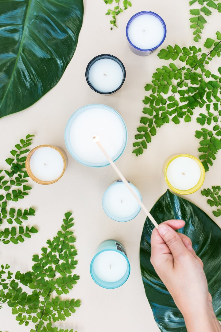 Save money with these DIY essential oil candles!