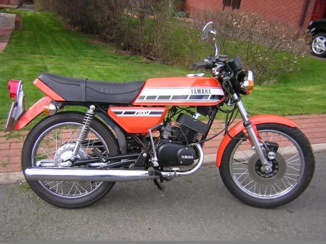 1976 Yamaha RD200C
