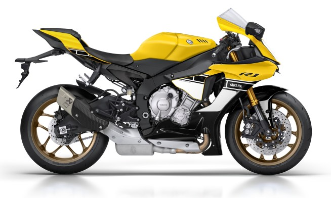 Yamaha YZF-R1 60th Anniversary Limited Edition