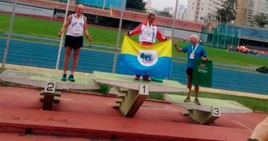 Atleta santareno ganha medalha em São Paulo