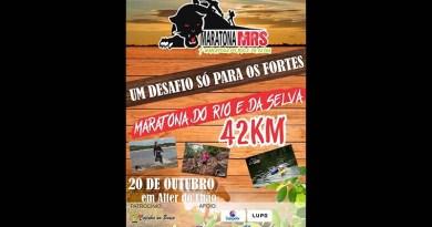 Alter do Chão será palco da Maratona do Rio e da Selva em outubro