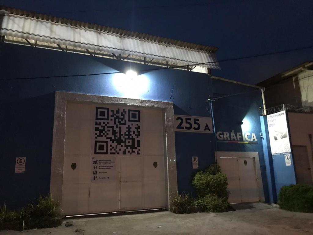 qr code impressão digital comunicação visual