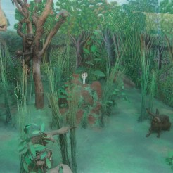 Miniature jungle for the royal children