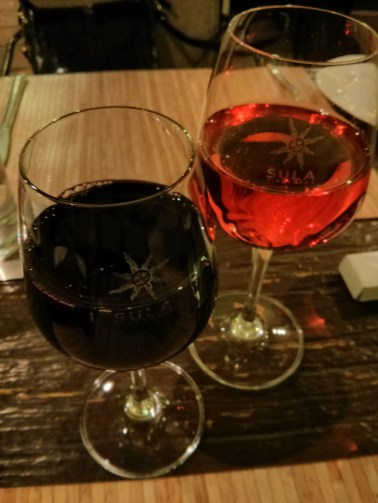 A red and a pink, I've got a pair to drink! ;-)
