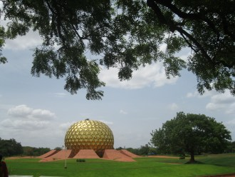AN AFTERNOON IN AUROVILLE