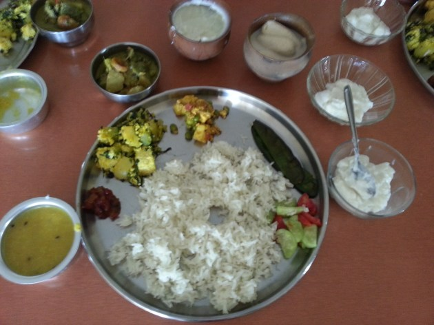 A full Bengali meal