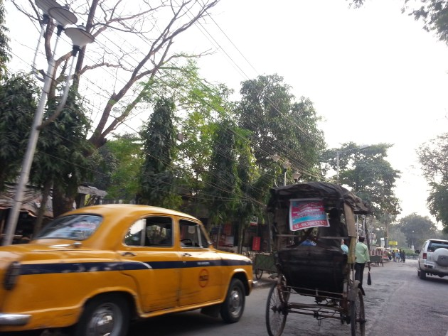 Would you prefer a cycle rickshaw to a taxi in the torrential Mumbai rains?