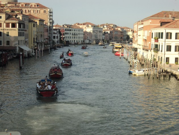 Venice floats on tourism