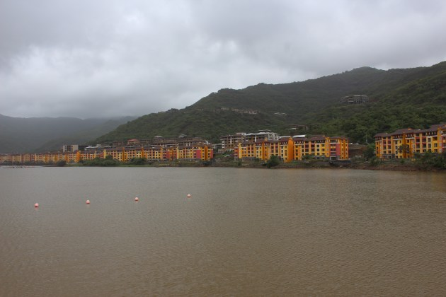 The waterfront at Lavasa
