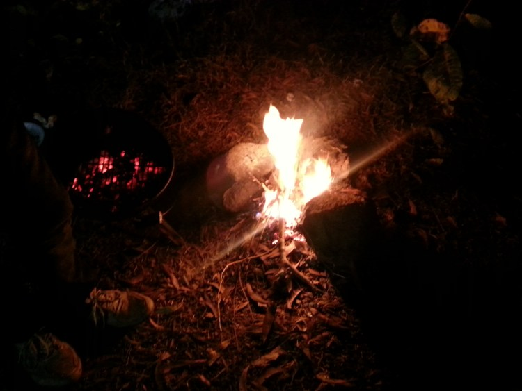 It's time to sit around the campfire and sing some good old songs! :-)