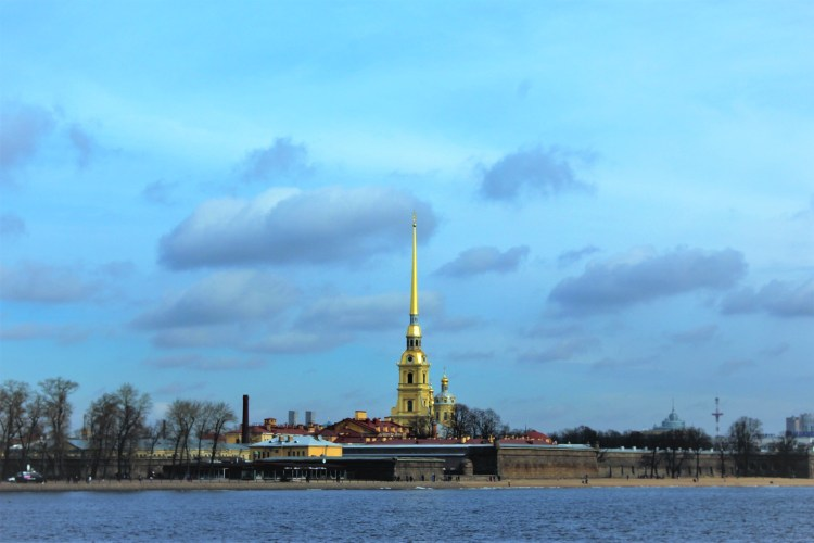 Peter and Paul Fortress on the Zayachy Island