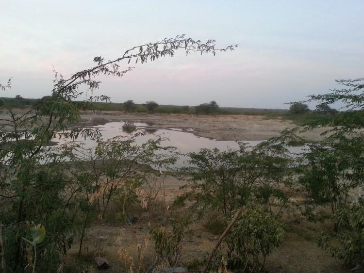 The little lake at Guda Vishnoiyan