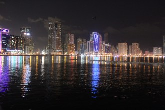 GLIMPSES OF THE SHARJAH LIGHT FESTIVAL