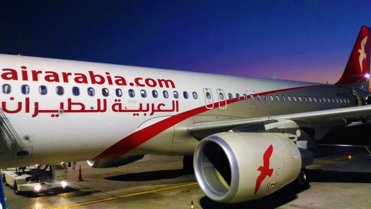 Air Arabia's Airbus A320 - the flying machine that brought me to Sharjah