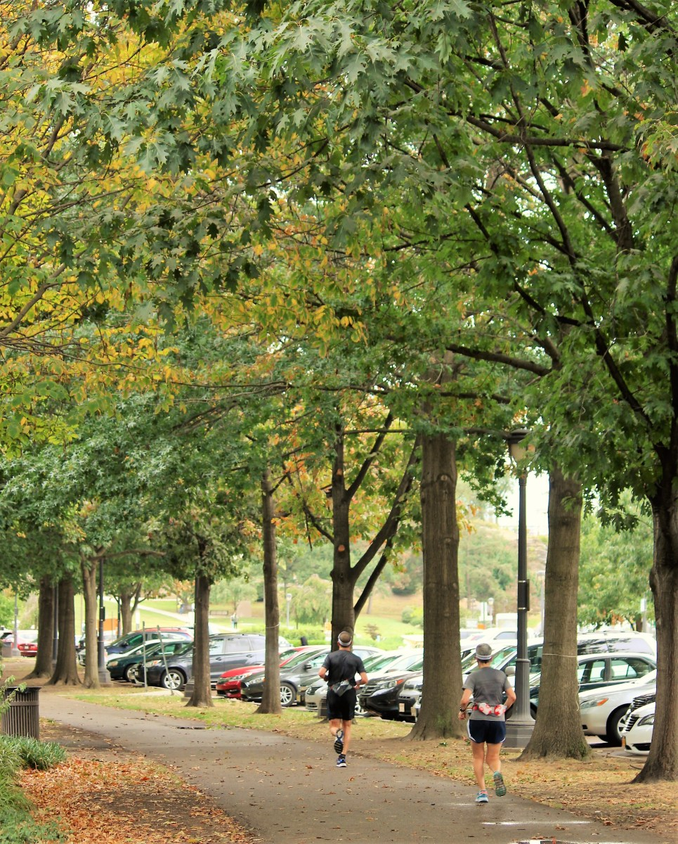 Philly is a paradise for distance runners with its long stretches of walkways and tree-lined parks.