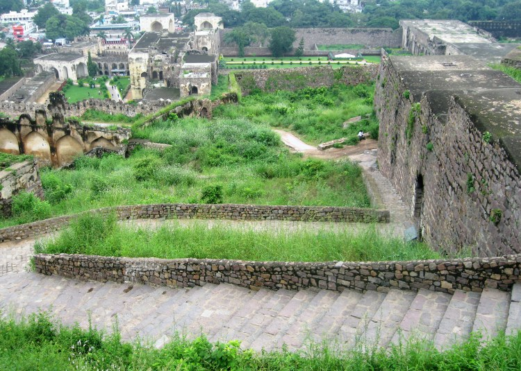 Golconda (Hyderabad) is popular not only for its fort but also for diamond mining and trading.