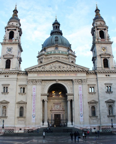 St. Stephen's Basilica is the tallest building in Pest.