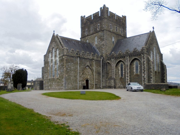 St. Brigid's Cathedral in Kildare (Courtesy: Roxanna Keyes)