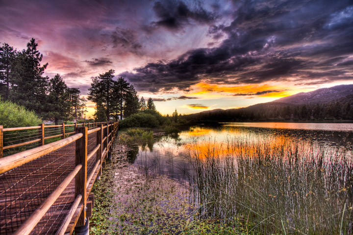 Stanfield Marsh Boardwalk (Courtesy: Big Bear Cool Cabins)