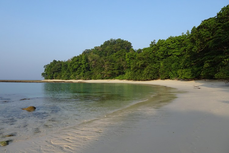 Stroll through the pristine beaches of Havelock Island