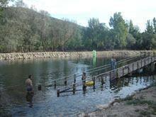 Praia fluvial de Valhelhas totalmente remodelada em 2012