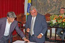 Empossado novo executivo de Belmonte
