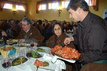 Carnaval festejado à mesa com o bucho raiano