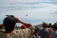 Festival aéreo na Covilhã atraiu centenas de         pessoas