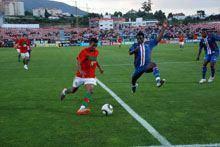 Portugal desiludiu na Covilhã no arranque da         preparação para o Mundial