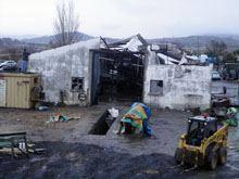 Tornado destrói casas e empresa no Carvalhal         Formoso