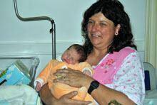 Nasceu na Guarda a primeira portuguêsa do         ano