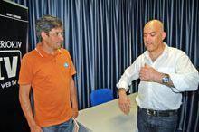 José Pedro Branquinho visitou jornal O         INTERIOR