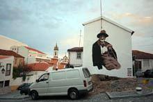 BTOY legou mural à Covilhã