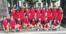 Seleção sub-14 da Guarda regular no Torneio         Lopes da Silva
