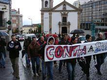 Manifestações contra e a favor da barragem