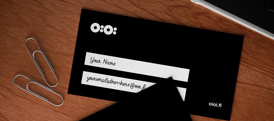 OiOi Business Card