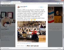 Hyeres 2019 J6 Tweet Susan Polgar