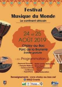 Partage Oise au Festival Musique du Monde Choisy-au-Bac août 2019